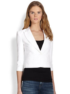 BCBGMAXAZRIA - Natalie Perforated Blazer