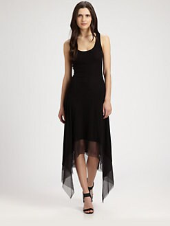 BCBGMAXAZRIA - Akris Asymmetrical Dress