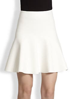 BCBGMAXAZRIA - Flared Stretch Knit Skirt