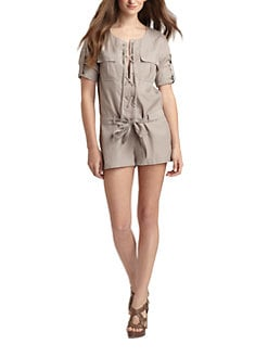 BCBGMAXAZRIA - Deja Short Jumpsuit