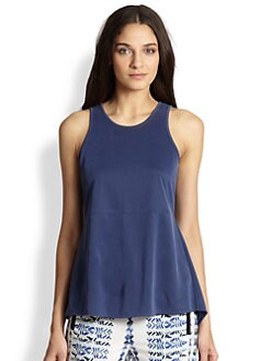 BCBGMAXAZRIA - Caralyn Split-Back Tank