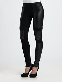 BCBGMAXAZRIA - Chase Faux Leather Leggings