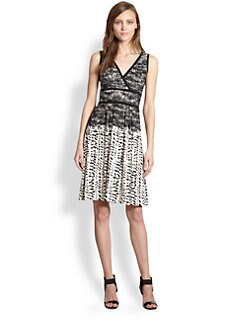 BCBGMAXAZRIA - Printed Dress