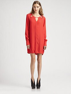 BCBGMAXAZRIA - Emmalise Cutout Dress