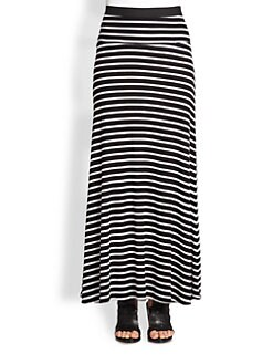 BCBGMAXAZRIA - Karolin Striped Maxi Skirt