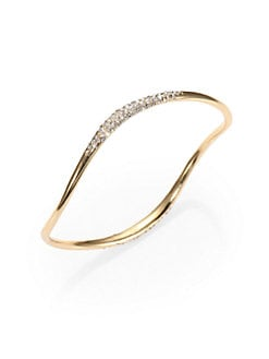 Alexis Bittar - Pave Crystal Bangle Bracelet