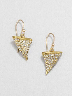 Alexis Bittar - Thorn Earrings/Gold