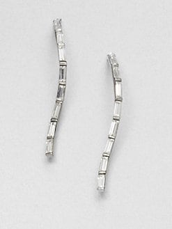 Alexis Bittar - Swarovski Crystal Linear Drop Earrings
