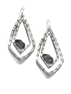 Alexis Bittar - Linear Baguette Stone Drop Earrings