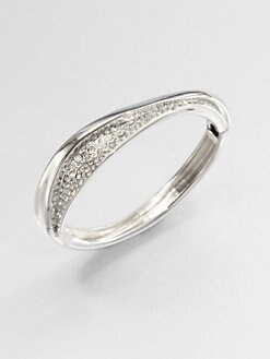 Alexis Bittar - Swarovski Crystal Wave Bangle Bracelet