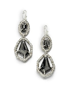 Alexis Bittar - Semi-Precious Multi-Stone Double Drop Earrings