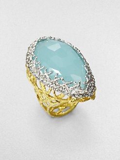 Alexis Bittar - Peruvian Chalcedony Ring