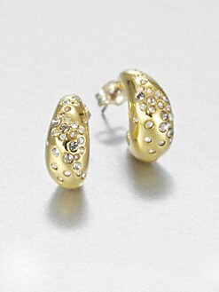 Alexis Bittar - Sparkle J-Hoop Earrings