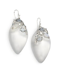 Alexis Bittar - Embellished Lucite Earrings