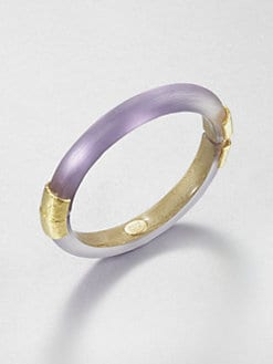 Alexis Bittar - Hinged Lucite Bangle Bracelet