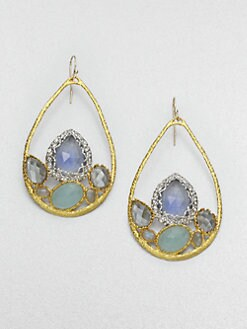 Alexis Bittar - Stone Cluster Earrings