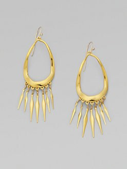 Alexis Bittar - Open Loop Fringe Earrings