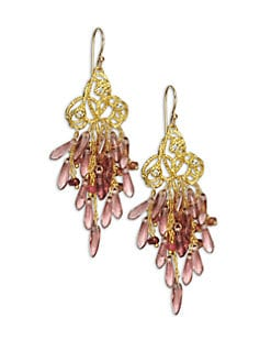 Alexis Bittar - Pastel Cluster Earrings