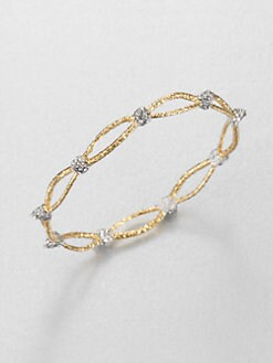 Alexis Bittar - Siyabona Two-Tone Woven Bangle