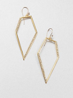 Alexis Bittar - Pavé Kite Drop Earrings