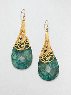 Alexis Bittar - Chrysocolla Drop Earrings