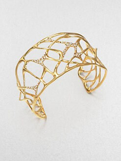 Alexis Bittar - Sparkle Web Cuff Bracelet