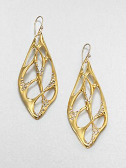 Alexis Bittar - Sparkle Web Drop Earrings