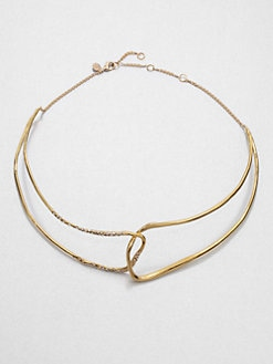 Alexis Bittar - Looped Sparkle Necklace
