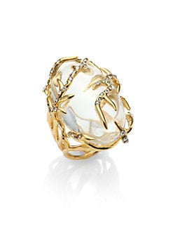 Alexis Bittar - Sparkle Vine Ring