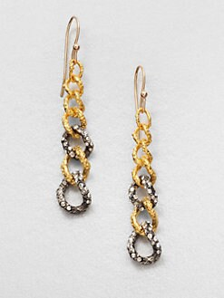 Alexis Bittar - Cordova Chain Link Drop Earrings