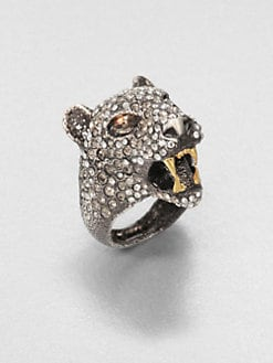 Alexis Bittar - Cordova Crystal Jaguar Ring
