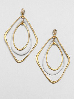 Alexis Bittar - Liquid Two-Tone Orbiting Drop Earrings