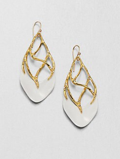Alexis Bittar - Liquid Thorny Shield Drop Earrings