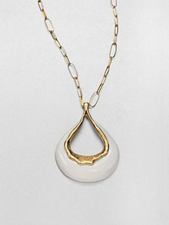 Alexis Bittar - Long Open Drop Pendant Necklace