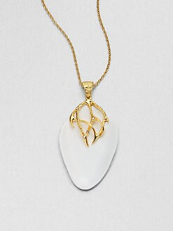 Alexis Bittar - Liquid Thorny Pendant Necklace