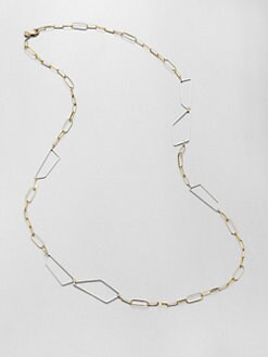 Alexis Bittar - Geometric Link Long Necklace