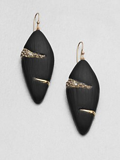 Alexis Bittar - Durban Striped Lucite Drop Earrings