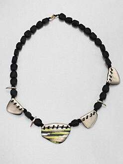 Alexis Bittar - Durban Long Ikat Necklace