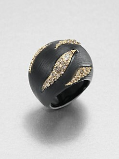 Alexis Bittar - Durban Striped Dome Ring