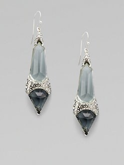 Alexis Bittar - Shield-Shaped Drop Earrings
