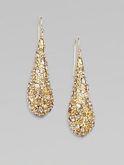 Alexis Bittar - Swarovski Crystal Accented Teardrop Earrings