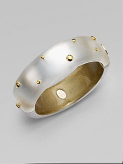 Alexis Bittar - Studded Lucite Bangle Bracelet