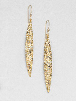 Alexis Bittar - Swarovski Crystal Spear Drop Earrings