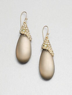Alexis Bittar - Jeweled Lucite Drop Earrings