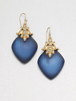 Alexis Bittar - Jewel-Capped Lucite Earrings