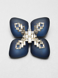 Alexis Bittar - Jeweled Lucite Pin