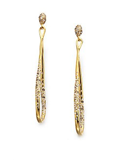 Alexis Bittar - Swarovski Crystal Orbiting Drop Earrings