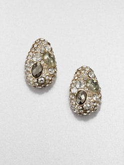 Alexis Bittar - Sparkle Button Earrings