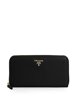 Prada - Vitello Daino Continental Wallet