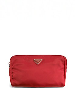 Prada - Nylon Triangle Cosmetic Bag